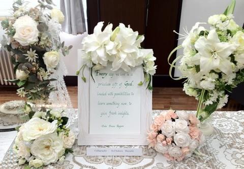 結婚式 会場装花事例